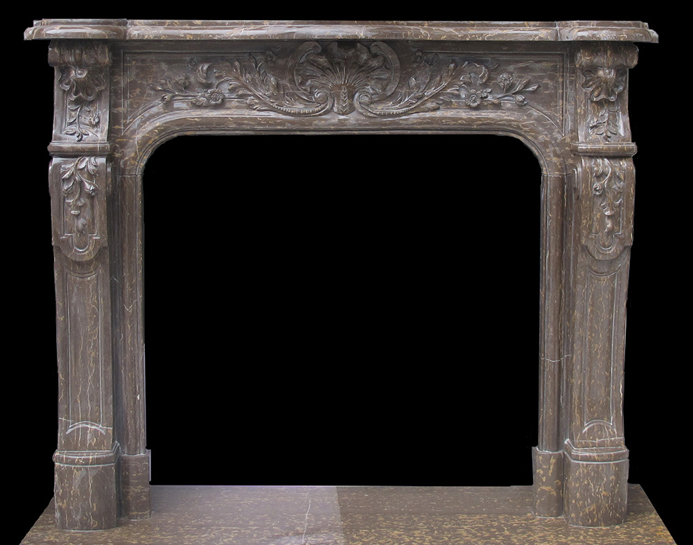 antique marble fireplace mantels. Bella Vista Brown Marble Floral Facing  French Mantel Sale Sandstone Fireplace Surround Portoro
