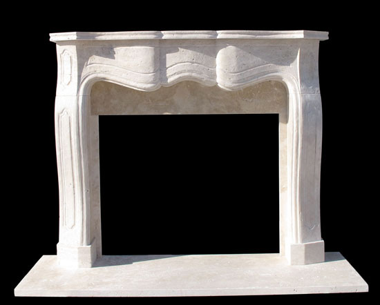 Providence Travertine Fireplace Mantel Sale - Providence Travertine Fireplace Mantel Sale - Contemporary - Modern