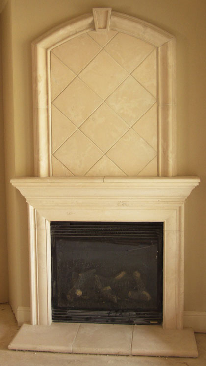 Cast Stone Fireplace Mantel Surrounds Precast Mantels