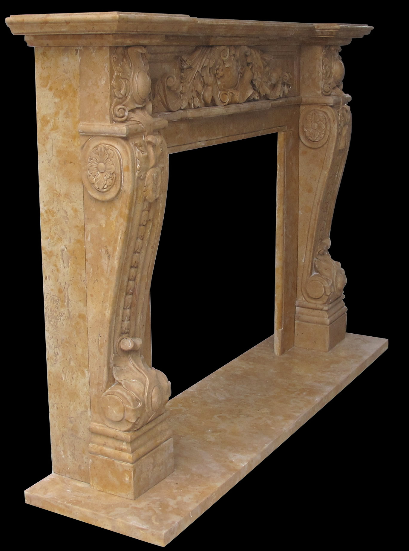 Verona french style fireplace sale for Marble mantels for sale
